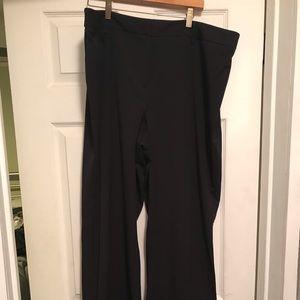 Lane Bryant black dress pants size 20T
